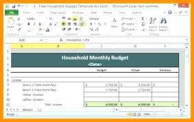 Budget Excel Template Mac Budget Excel Template Mac My Excel Templates Household Budget
