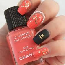 Cf7bb6d7cc Glitter Nálepky Na Nechty Chanel Simeuluenewscom