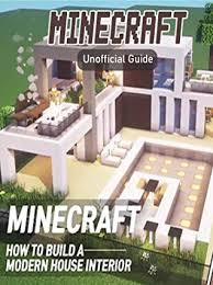 build modern house interior minecraft
