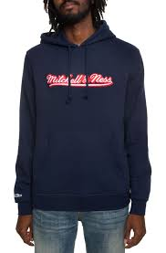 Mitchell And Ness Swingman Size Chart Branded Script Hoodie