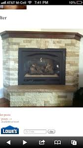 airstone fireplace remodel