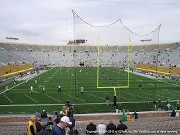Notre Dame Stadium 2019 Seating Chart