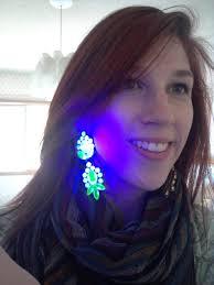 Fake Tooth Black Light Uranium Glass Jewelry Glows Under A Black Light Porcelain