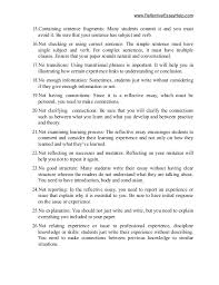 typical reflective essay mistakes 3