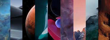 Super Earth and Mars Live Wallpapers
