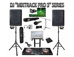 professional dj system numark mixtrack pro 3 dj controller peavey numark mixtrack pro 3 madproadio system