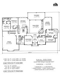 Bed: 1 Story 2 Bedroom House Plans