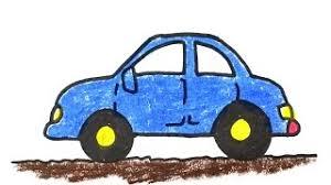 Contoh gambar mobil untuk anak TK mobil sedan