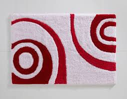 gallery art red bathroom rug set how to a bath rugs on