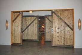 sliding barn doors wood barn doors interior high end restaurant double sliding barn doors non warping patented wooden pivot door sliding door
