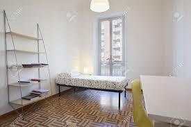 Single Bedroom Interior Design Single Bedroom Modern Interior Design In New Apartment Stock
