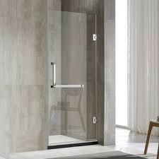 frameless single shower doors. Frameless Glass Single Hinge Shower Door D91 Doors