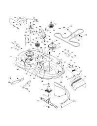 Husqvarna model lth18538 lawn tractor genuine parts rh searspartsdirect husqvarna 48 mower deck belt diagram husqvarna lawn mower deck belt diagram