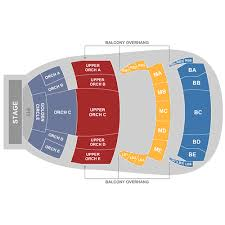 Temple Buell Seating Chart The Buell Theatre Denver Tickets Schedule Seating