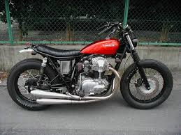 w650 brat built by brat style of an