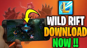 Download league of legends wild rift alpha apk (works) - YouTube