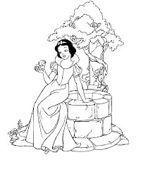 Small Picture Top 20 Free Printable Snow White Coloring Pages Online Snow