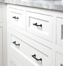 matte black cabinet pulls. Flat Cabinet Pulls Drawer 3 Matte Black Door .