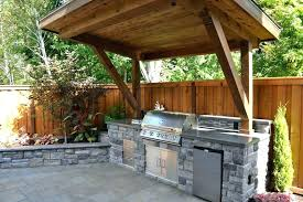 backyard kitchen ideas outside outdoor patio color with oak cabinets small images backyard kitchen ideas