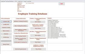 Employee Training Tracking Software Free Employee Training Records Magdalene Project Org
