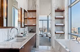 Modern Bathroom Shelving For Decor Modern Bathroom With Custom - Modern bathroom shelving