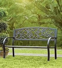 aluminum garden bench. Exellent Aluminum Hummingbird Cast Aluminum Garden Bench Throughout S