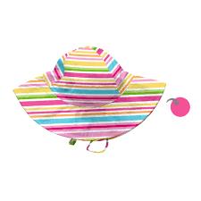 Iplay Sun Hat Size Chart Iplay Reversible Brim Sun Hat Pink Multistripe