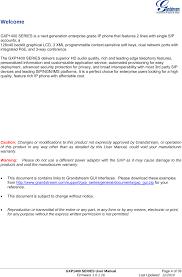 Gxp1400 Ip Phone User Manual Users Manual Grandstream Networks, Inc
