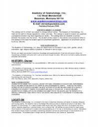 Fantastic Cosmetology Student Resume Templates For Your ...