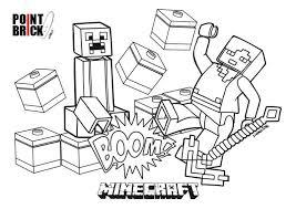 Point Brick Blog Disegni Da Colorare Lego Minecraft Resume Simple