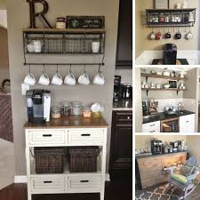 these coffee station ideas are just what i need for my kitchen thanks for sharing