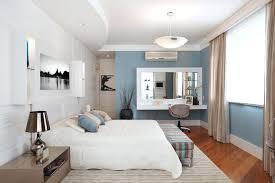 Modern White Bedroom Vanity Mirrored Vanity Table In Bedroom ...