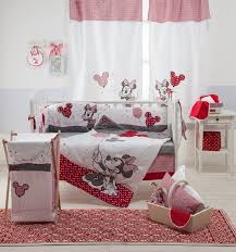 vintage minnie mouse crib bedding design ideas