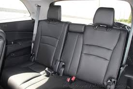 2019 new honda pilot elite awd at of spring serving houston honda pilot charcoal vinyl rear seat covers
