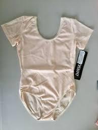 Details About Danskin 9391 Theatrical Pink Short Sleeve Nylon Leotard Child Size Large 8 10