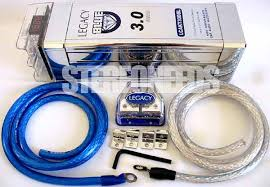 farad chrome car capacitor cap install kit