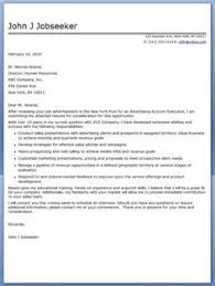 Sample Advertising Account Executive Cover Letter 7 Best Advertising Images Advertising Account Executive