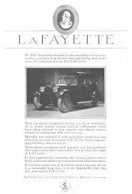 lafayette automobiles 1920 ad picture