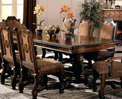 wood dining tables with leaves crown mark renaissance double pedestal dining table with two inch leaves reclaimed wood round dining table with leaves