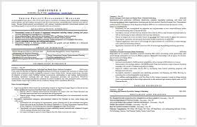 executive resume writer cutting edge industry specific resume samples certified