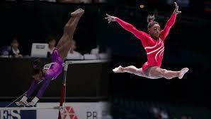 vault gymnastics gif. Simone Biles Vault Gymnastics Gif