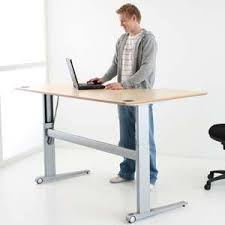 height adjustable office desk. Electrically Height Adjustable Desks Can Help Bad Back Issues. Change To Allow You Work Sitting Or Standing. Office Desk H