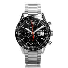 tag heuer carrera watches the watch gallery® tag heuer carrera automatic stainless steel mens watch cv201ak ba0727