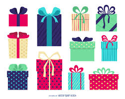 gift voucher maker editable design isolated gift box illustration