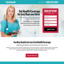 free cal health coverage quote high converting responsive landing page design at a very reasonable and affordable from landing page design