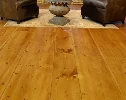 wide plank pine flooring inspired