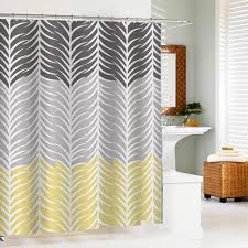 casabella leaves shower curtain with 12 c rings