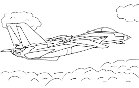 airplane coloring pages fighter jet