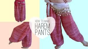 Make Pants How To Make Belly Dancer Harem Pants Sparkly Belly