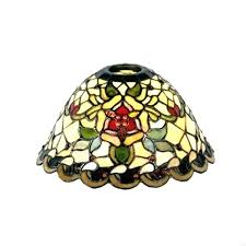 tiffany style table lamp shades uk narrow replacement shade by lighting direct floor